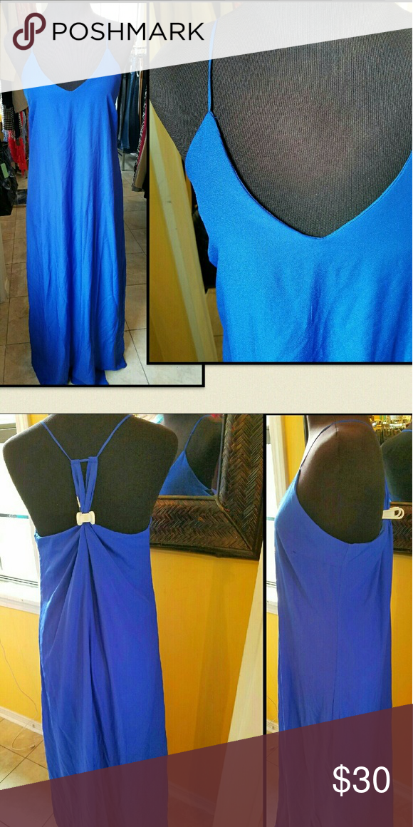 Maxi Old Navy dress Old Navy dress. New excellent condition. Bundle or make an offer.  Lined.  Large.  Length 58.  Chest 21.5 [43] Old Navy Dresses