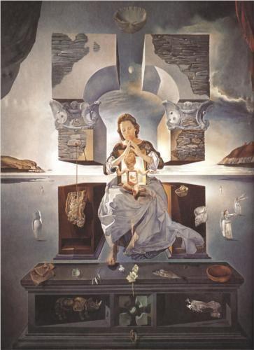 Salvador Dali | The Madonna of Port Lligat, 1950, oil on canvas,  Fukuoka Art Museum, Fukuoka, Japan