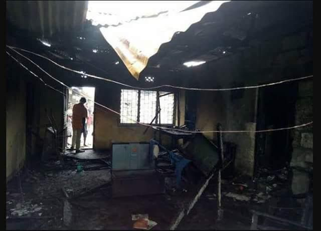 Photos: Man caught wife in bed with errand boy, sets himself ablaze in Delta State - https://goo.gl/KqejT6