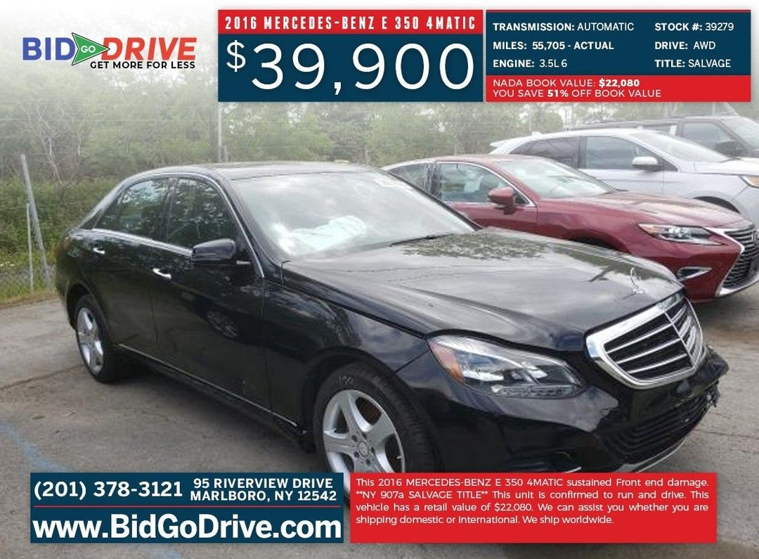 2016 Mercedes Benz E 350 4matic Click On The Link For More Information Https Bit Ly 3dsu1oq We Ship Worldwide Harleydavids Benz E Mercedes Benz Benz