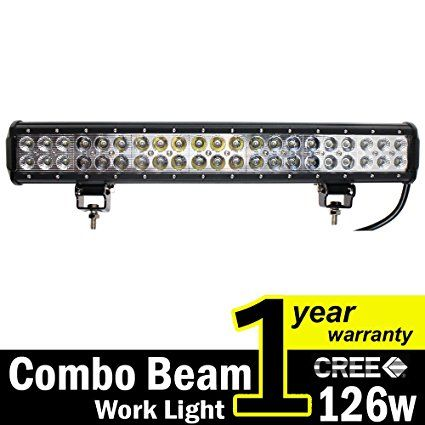 Tmh 20 Dual Row High Power 126w Cree Xb D Smd Led Work Light Bar 13000 Lumens Off Road 4wd 4x4 Utv San Sand Rail Led Boat Lights Led Light Bars