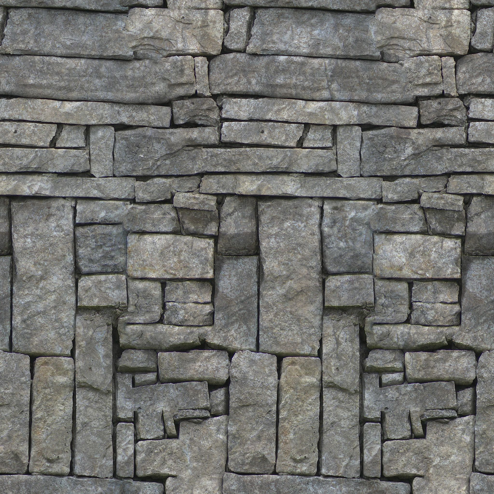 6 Seamless Stone Textures Walls Ground And Rock Home