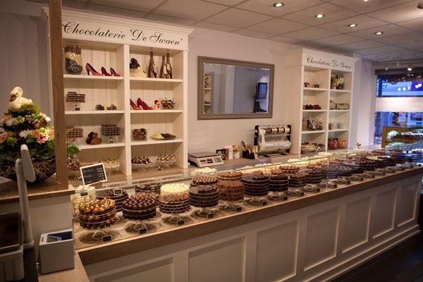 Voor Chocolaterie \'De Swaen\' heeft Castor interieur een complete ...