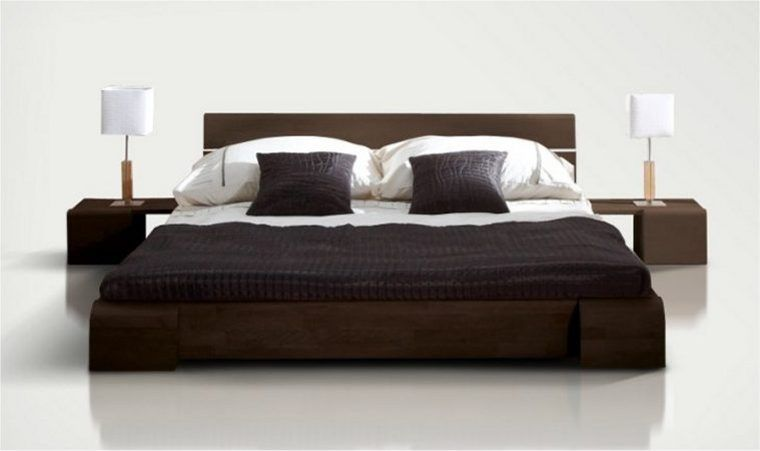 R sultat de recherche d 39 images pour mod le de lit en bois - Lit en bois moderne pour adulte ...