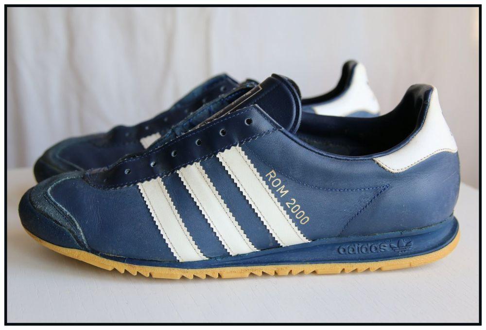 RARE! Vintage! Adidas Rom 2000 Size UK6.5 US7 Yugoslavia