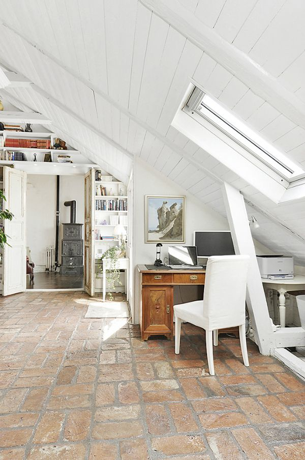 A WHITE PENTHOUSE IN STOCKHOLM, SWEDEN | THE STYLE FILES