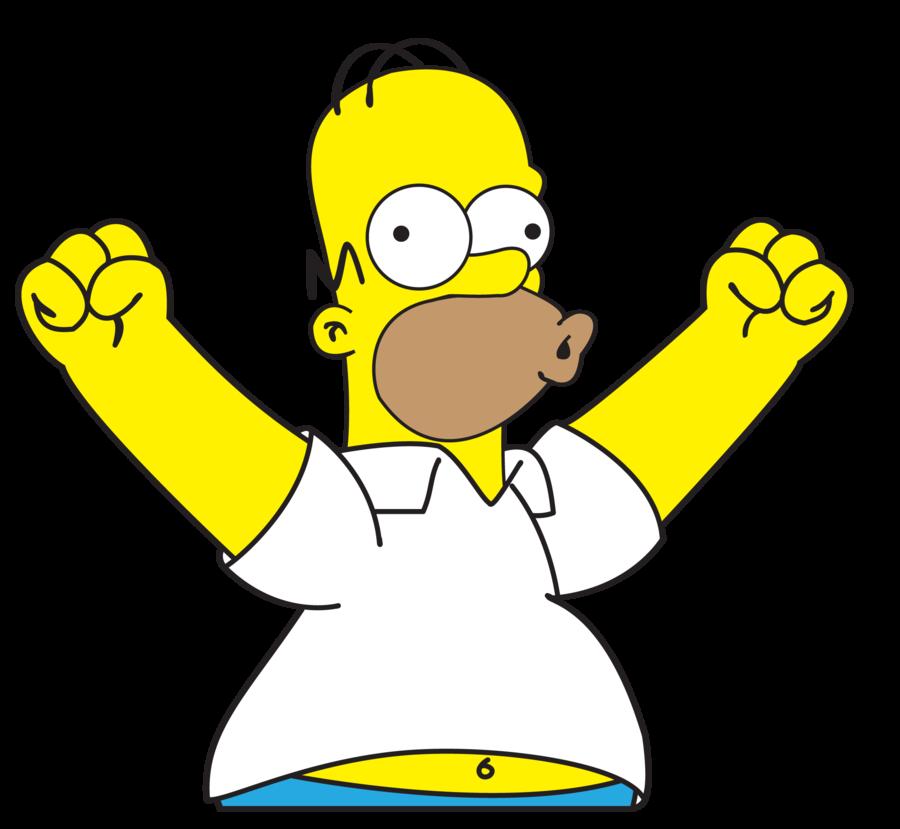 счастливый гомер симпсон картинки качестве