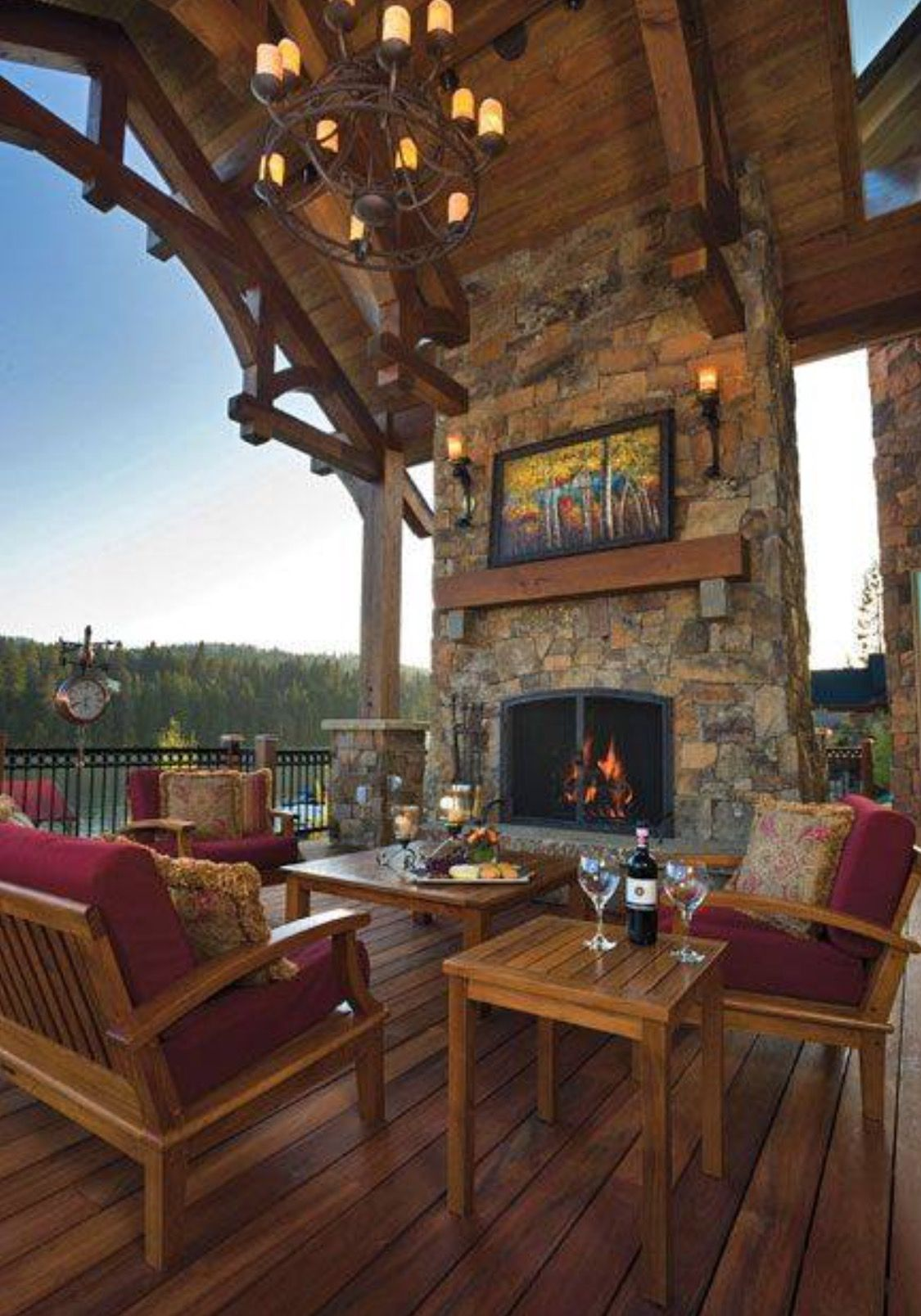 The Outdoor Living Room | ROOM AND BOARD...plus KITCHENS | Pinterest ...