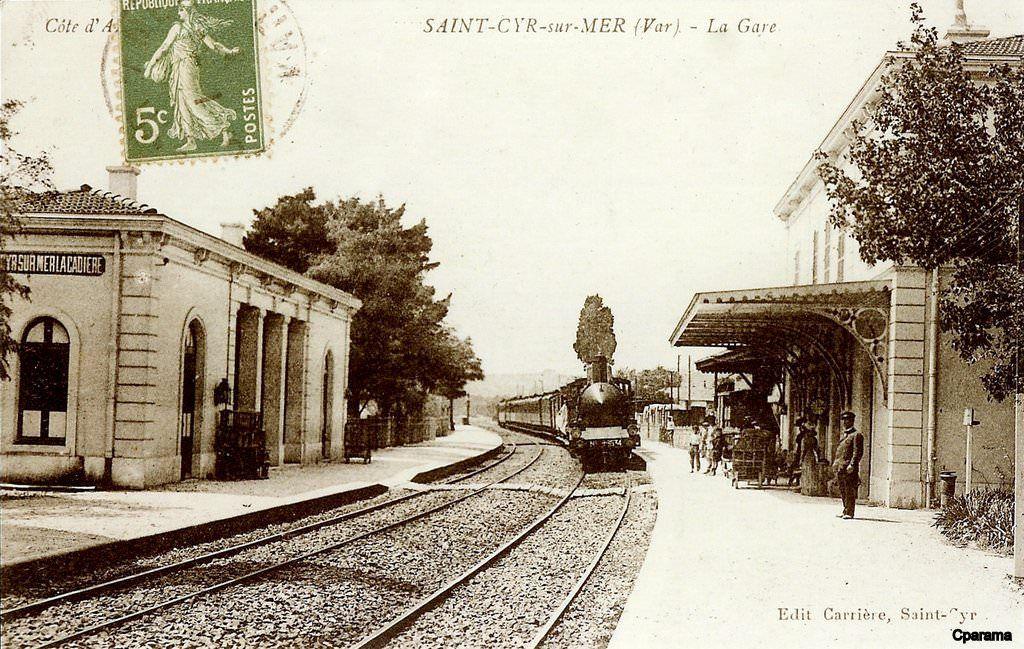 Saint Cyr Sur Mer Var Photos Anciennes Carte Postale Cartes Postales Anciennes