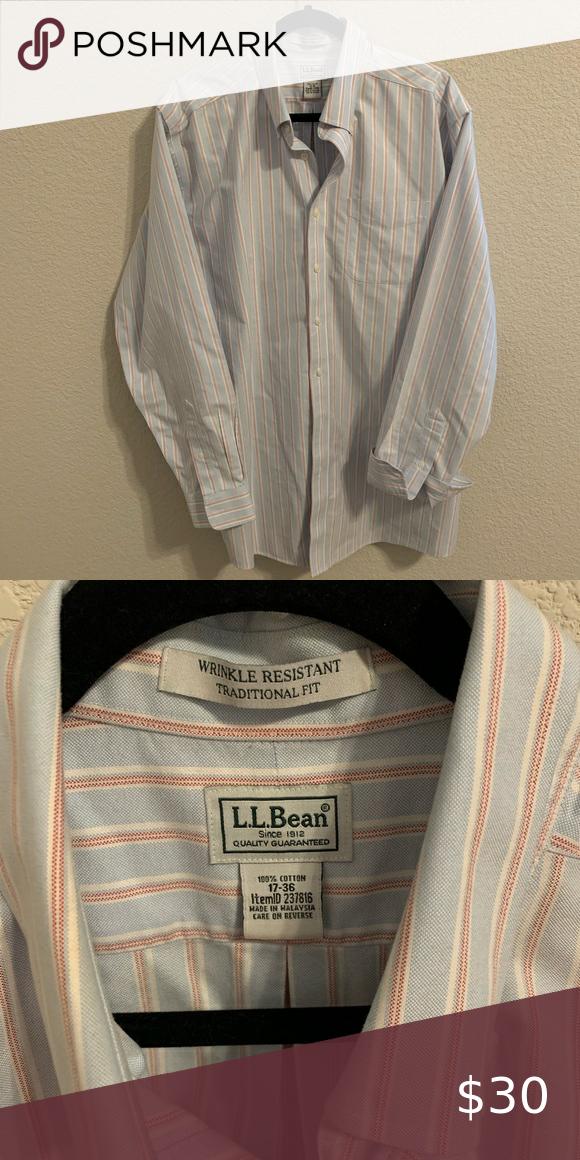 L L Bean Button Down Shirt In 2020 Mens Shirt Dress Clothes Design Bean Shirts