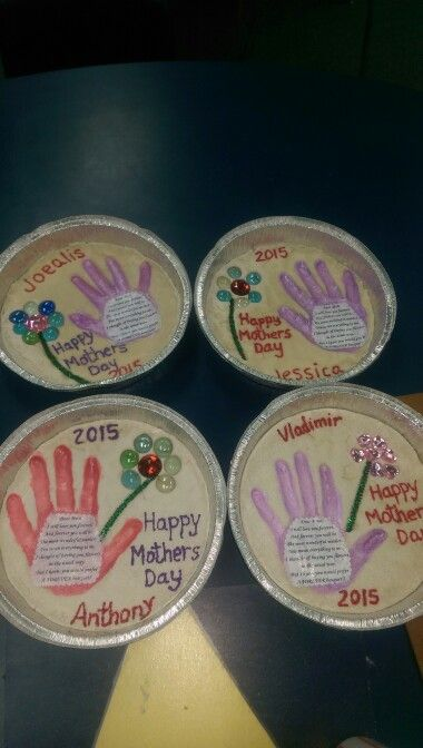 Mothers Day Gift With Salt Dough Mothers Day Crafts For Kids