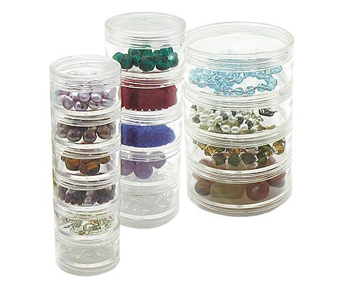 Stackable bead storage container My Dream Craft Haven Pinterest