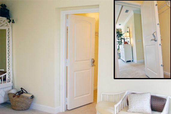image of inspiring basement storm door