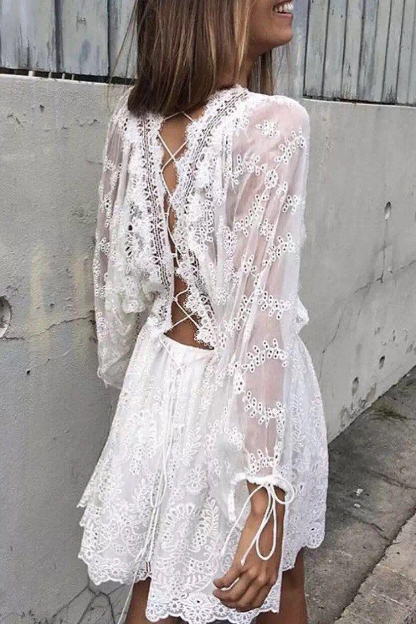 3b6ba389f5 Zimmermann Alchemy Twine Embroidery Dress in White