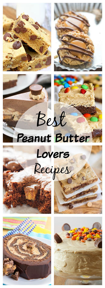 Satisfy your peanut butter craving with this round-up of recipes!