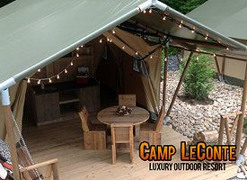 Camp Leconte Gatlinburg Tennessee Camping In Tennessee Gatlinburg Tennessee Family Vacation