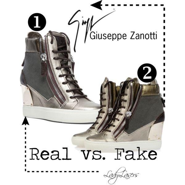 Giuseppe Zanotti: Real vs. Fake