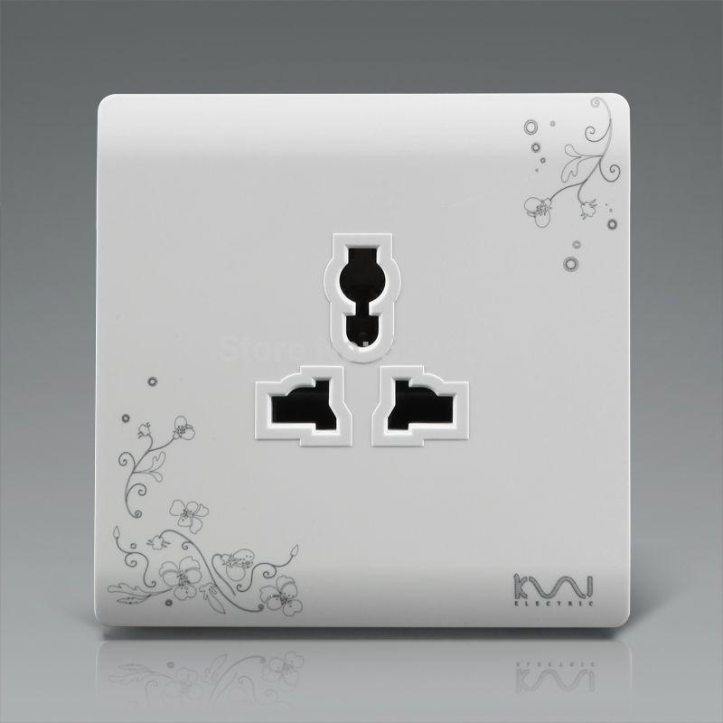 Pak Voor EU/UK/US/AU Standaard Plug, Kempinski Luxe Muur Stopcontact ...