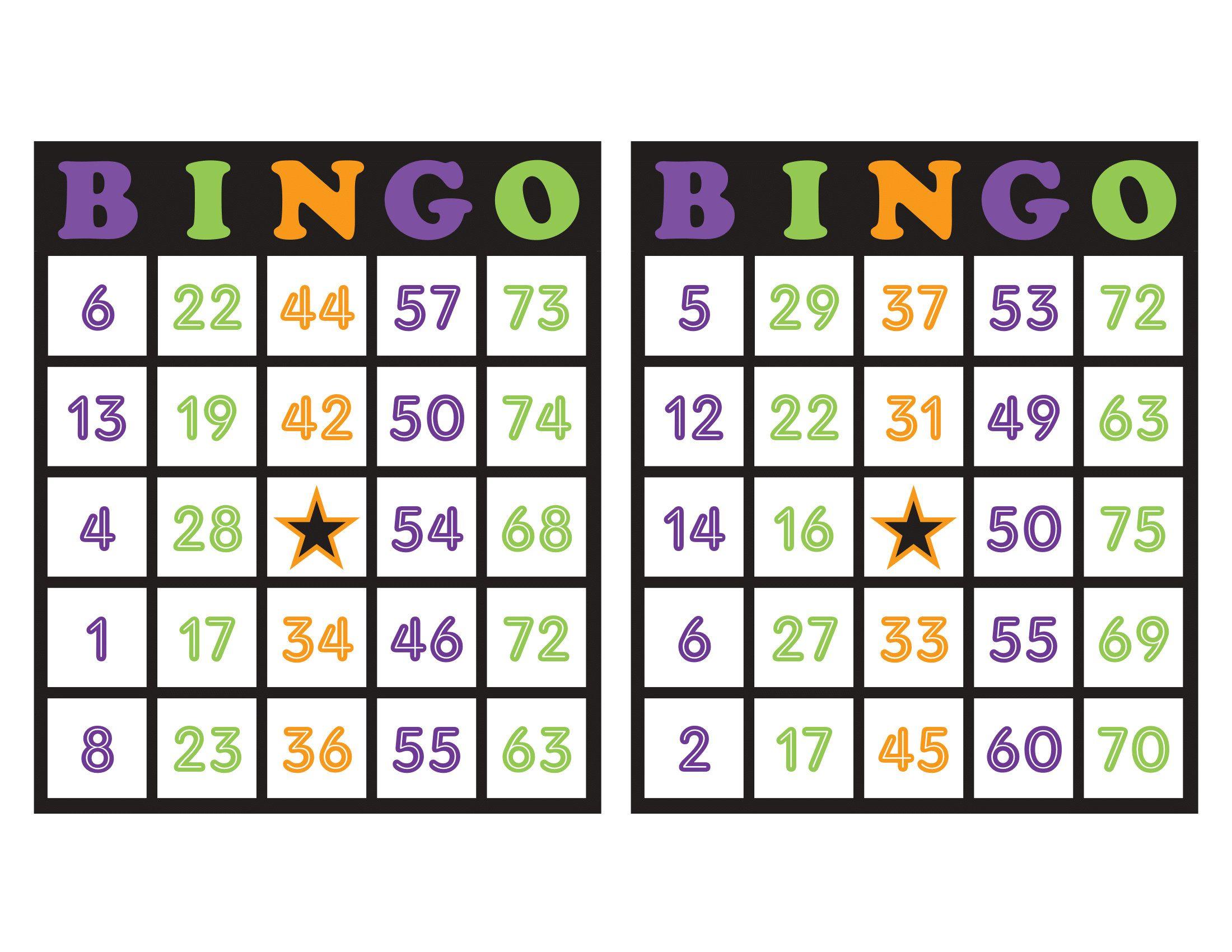 Halloween Bingo Patterns.Pin On Halloween Bingo Cards
