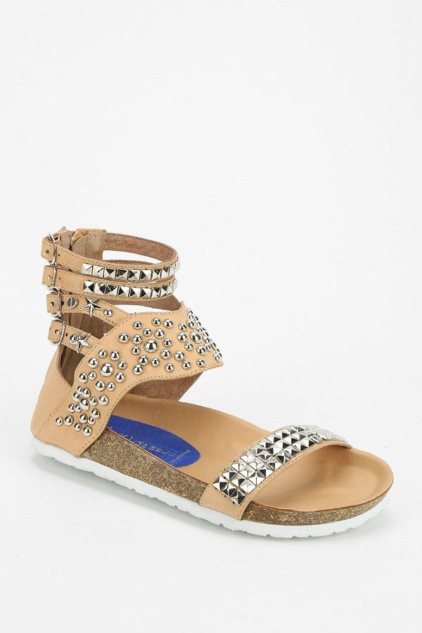 8f9bc6f231a9 Jeffrey Campbell Pula Embellished Sandal on shopstyle.com.au