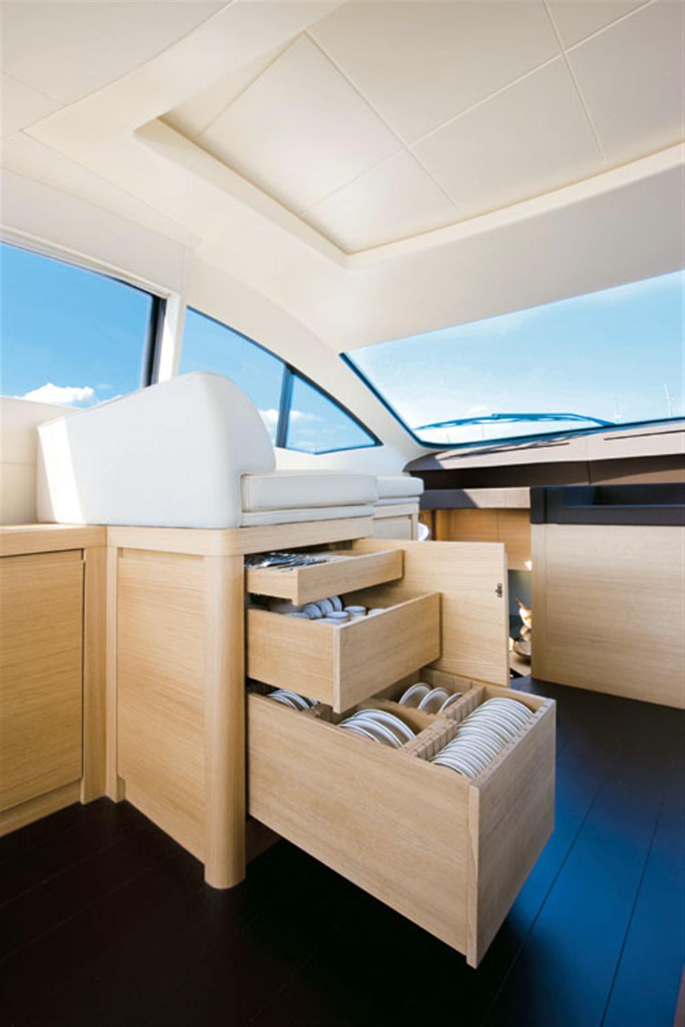 Internal Affairs Interior Designers: Internal View Pershing Yacht