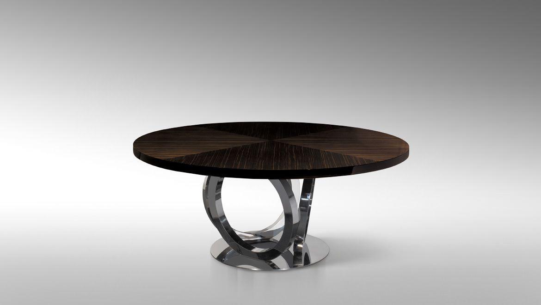 Risultati immagini per luxury living tavolo tondo tavoli for Luxury round dining table