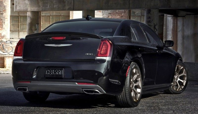 2016 Chrysler 300S and 200S Alloy Editions Sport Chassis