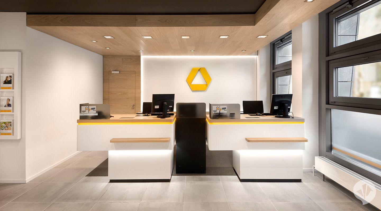 Commerzbank Flagship Branch Concept Bank Design Retail Interior