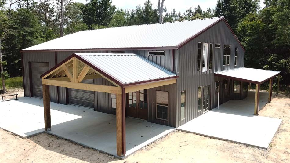 Metal Building Gallery #metalbuildinghomes