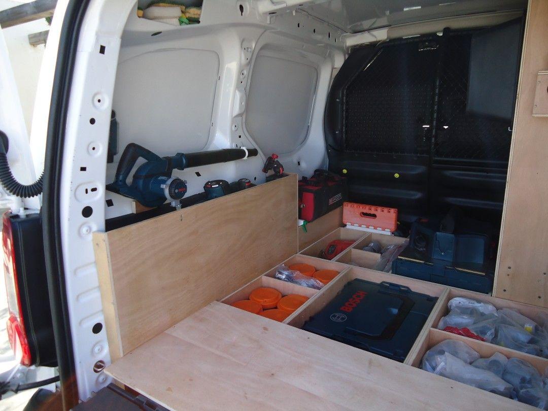 Rangement Vehicule Utilitaire Fourgon Berlingo Partner Equipements