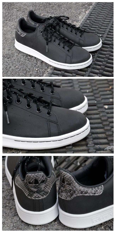 sports shoes eb911 16698 adidas Originals 3M Black   Snake