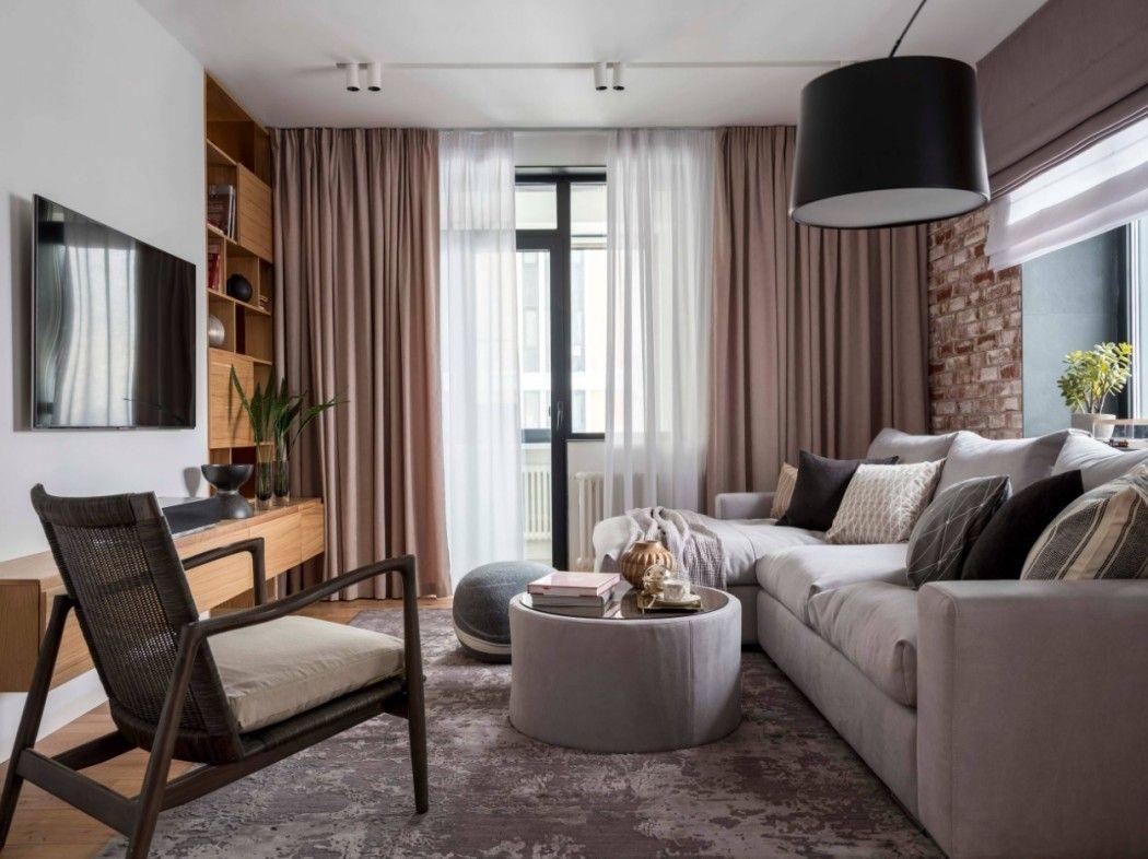 дизайн гостиной 2019 года современные модные тенденции оформление