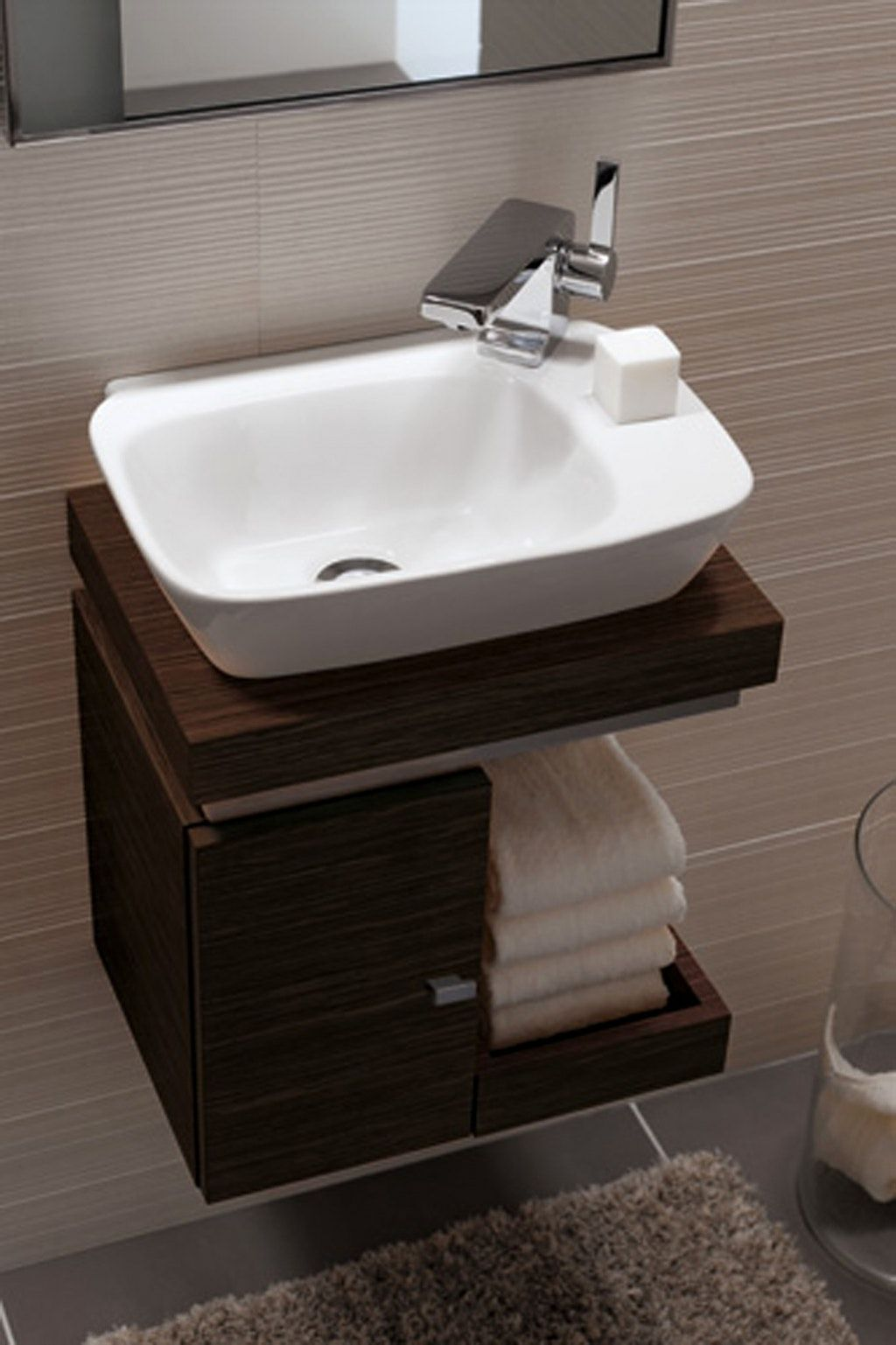 Photo of Cheap hand washbasin guest toilet –