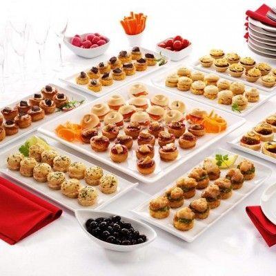 Recibe a tus invitados con entremeses antes del banquete