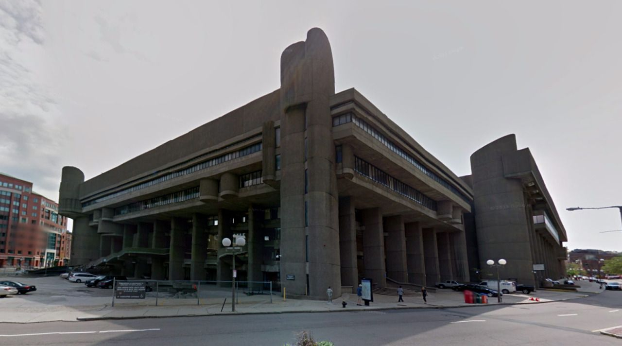 Government Service Center - 1966-71 by Paul Rudolph - #architecture #googlestreetview #googlemaps #googlestreet #usa #boston #brutalism #modernism
