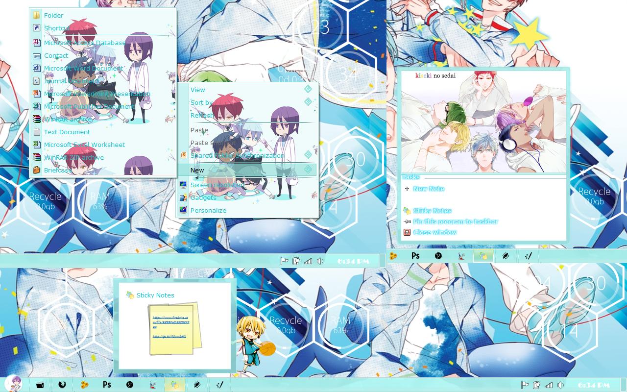 Google themes kuroko no basket -  Theme Win 7 Kiseki No Sedai Kuroko No Basket By Kurohtenshi