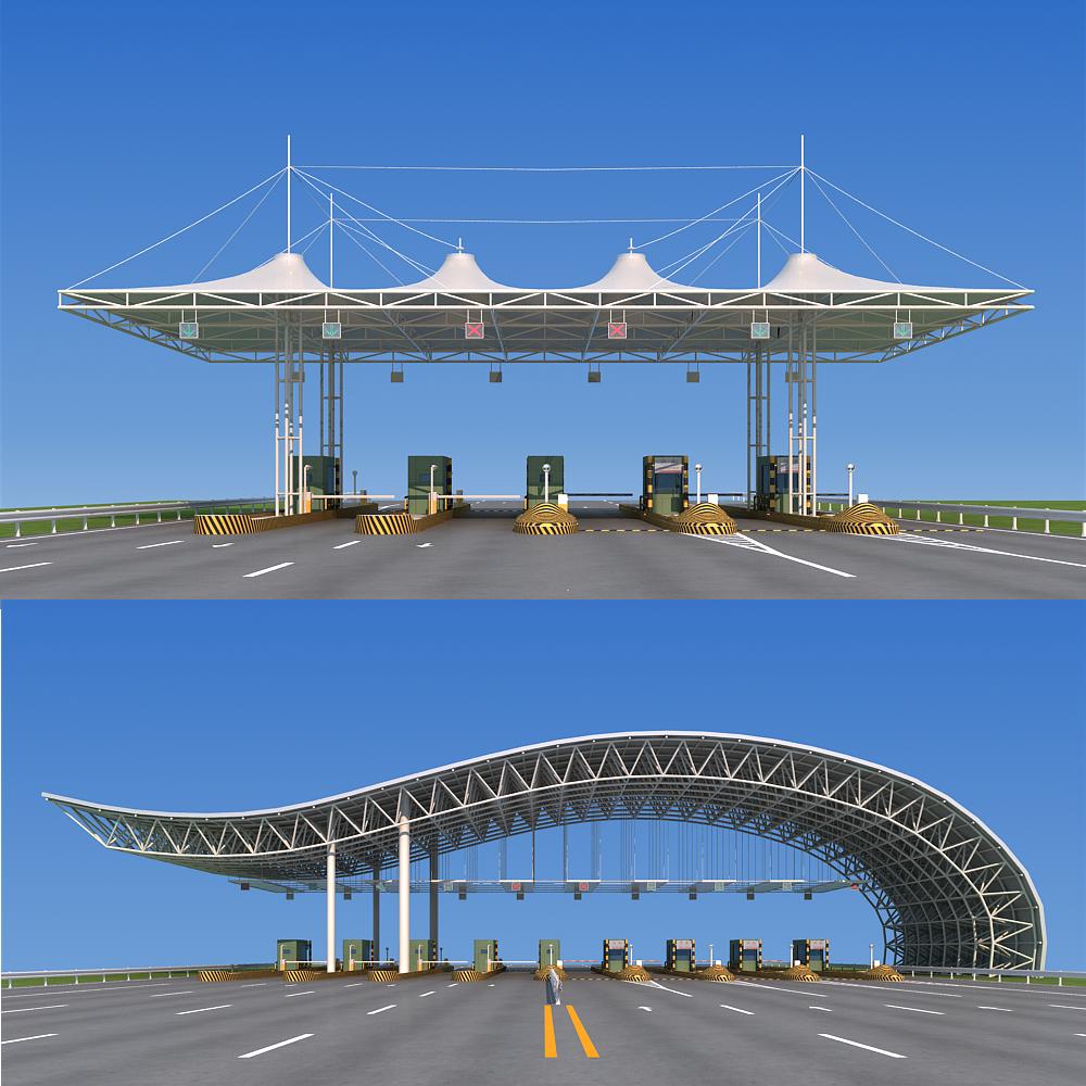 highway toll station  highway   toll   station