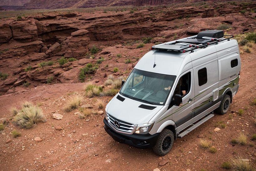 Winnebago 39 s mercedes benz revel 4x4 camper van is built for Mercedes benz sprinter based motorhomes