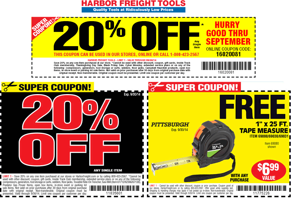 Harbor Freight Deal Harbor Freight Coupon Free Printable Coupons Printable Coupons