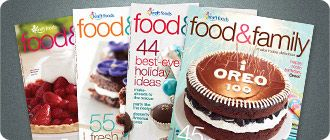 really find the print version of the food & family magazine useful. have used many of the recipes and tips.