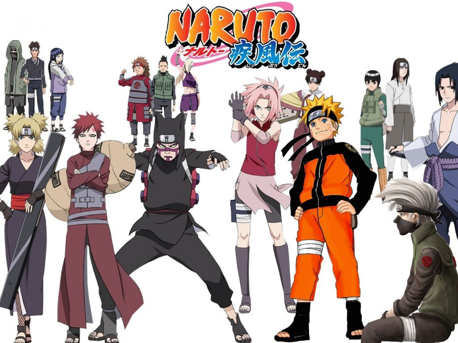 Naruto Characters In Real World Background Wallpaper: ... Wallpaper Backgrounds