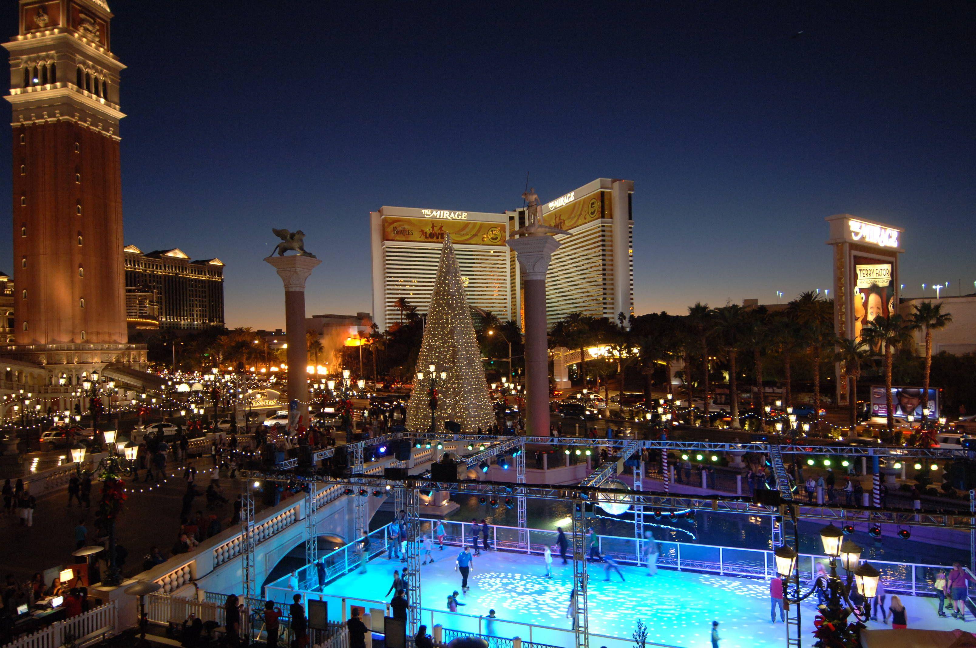 Looking forward to Vegas during the Christmas season. Dec ...