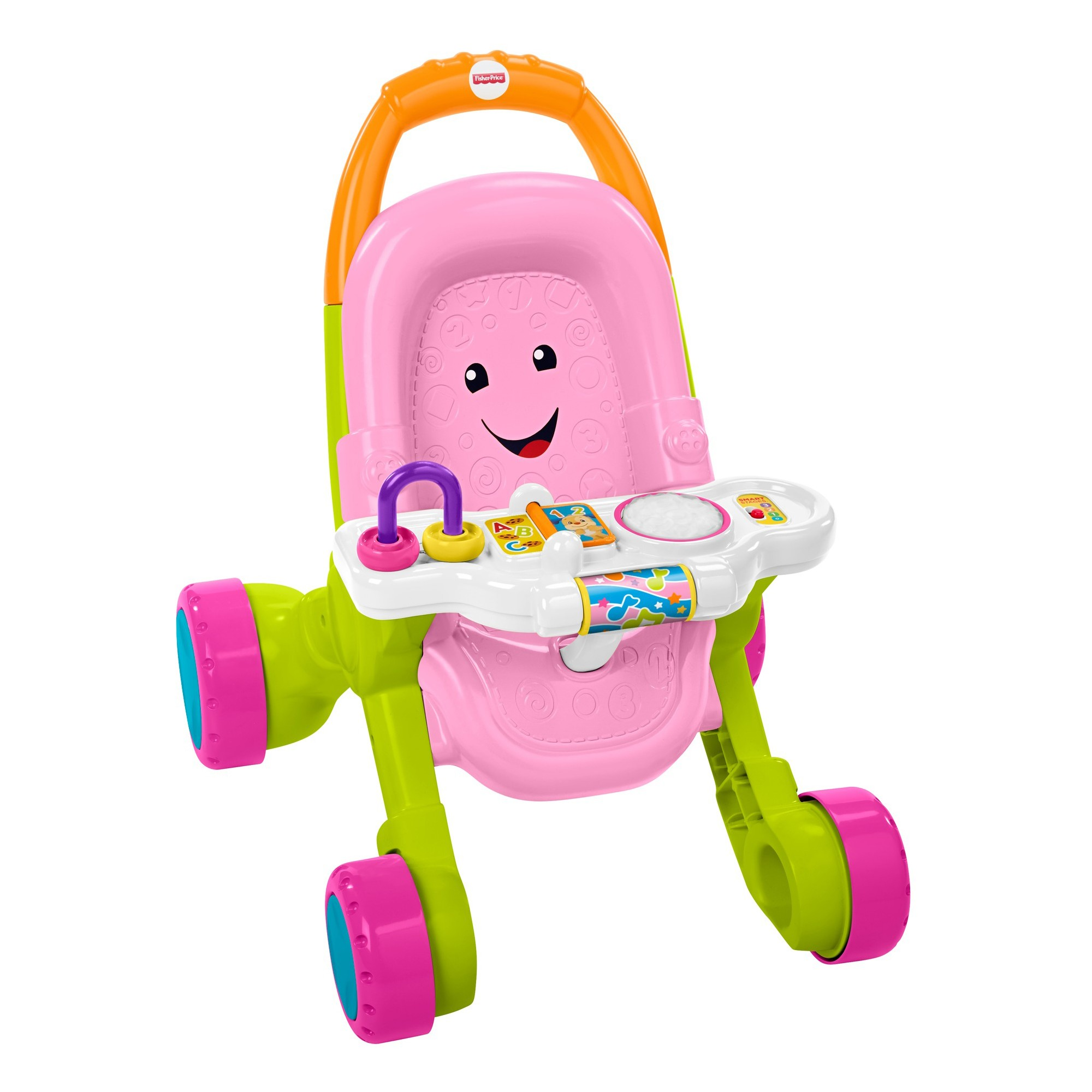 FisherPrice Stroll and Learn Walker Pink Fisher price