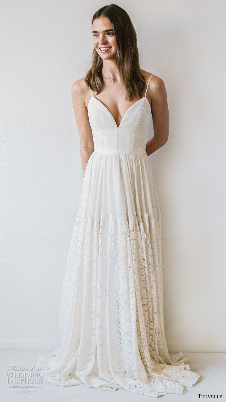 Truvelle 2017 Wedding Dresses | Bodice, Neckline and Romantic