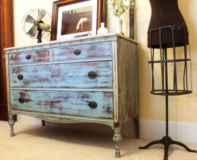 Distressed Wood Furniture Diy Furniture Distressed Wood