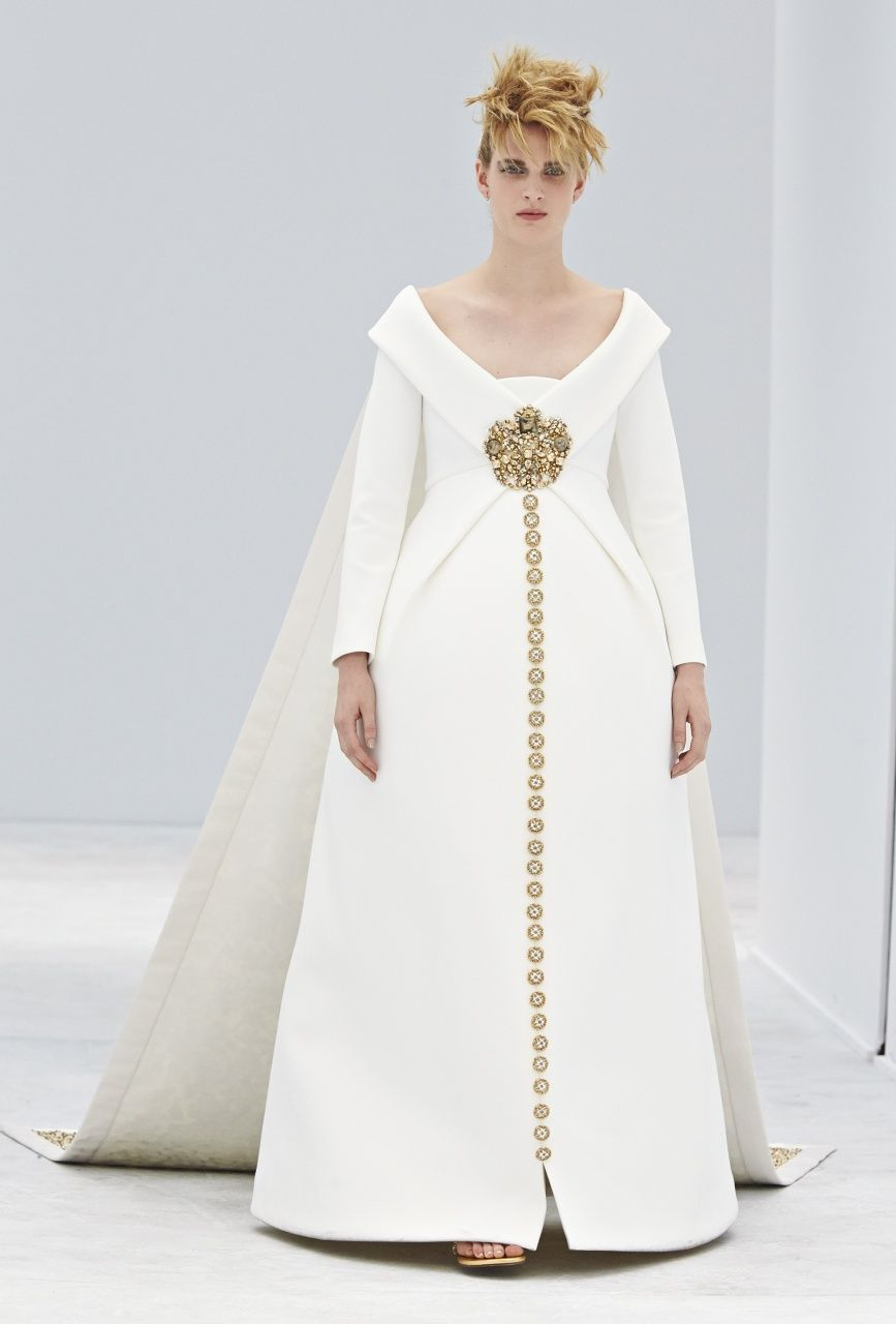 The Pregnant Bride, Chanel Fall 2014 Couture