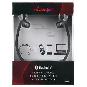 Rocketfish Behind-the-Head Bluetooth Stereo Headphones - RF-BTHP02 (Electronics)