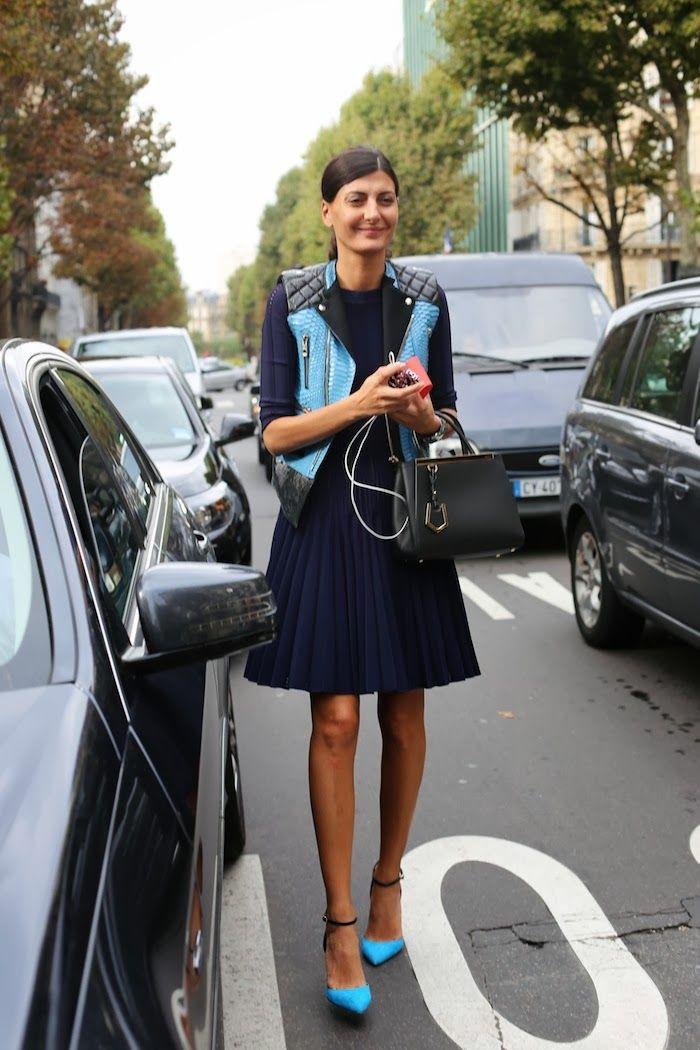 Giovanna Battaglia, lovely combination of colours!