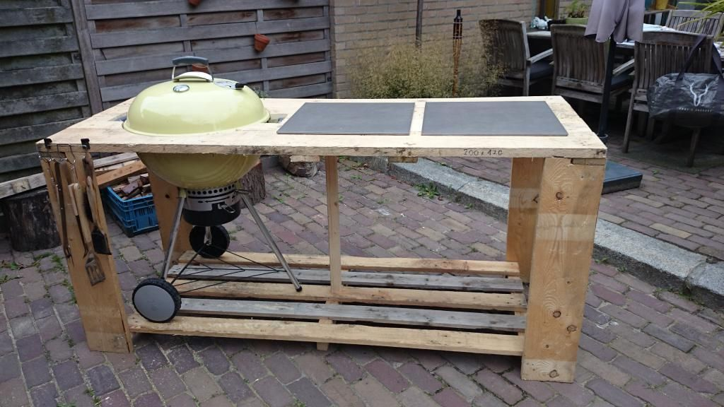57 weber table mod not quite complete | Diy bbq, Weber
