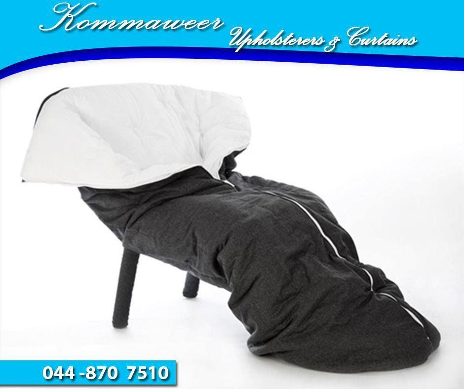 It's #WackyWednesday. This chair we found online is a cocoon-like upholstered chair that offers comfy and cozy spells for people who want one. The chair stands to be an ideal solution for homes with cold climates thanks to the covers which look a lot like sleeping bags. #Kommaweer